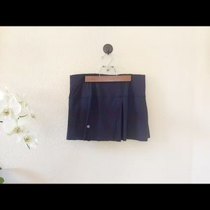 Navy Lululemon athletic skort Size 8